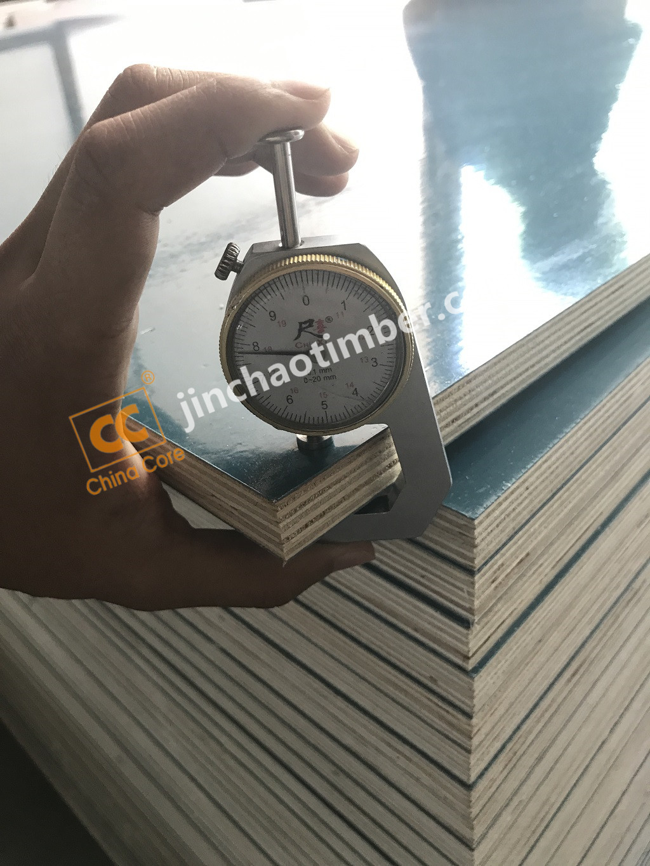 PP polypropylene plastic Film Faced Plywood