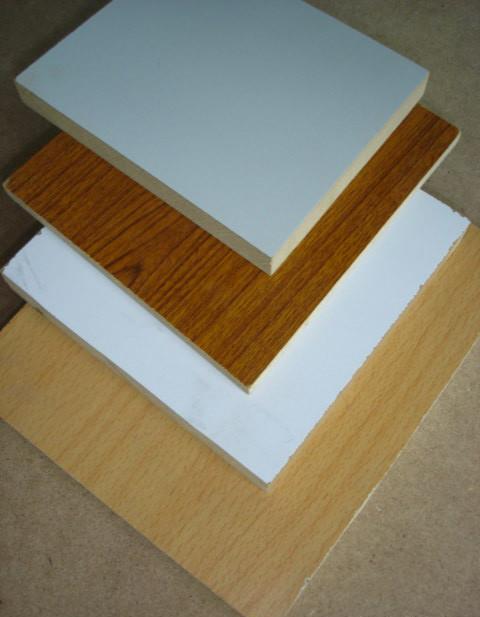 Melamine papered MDF board