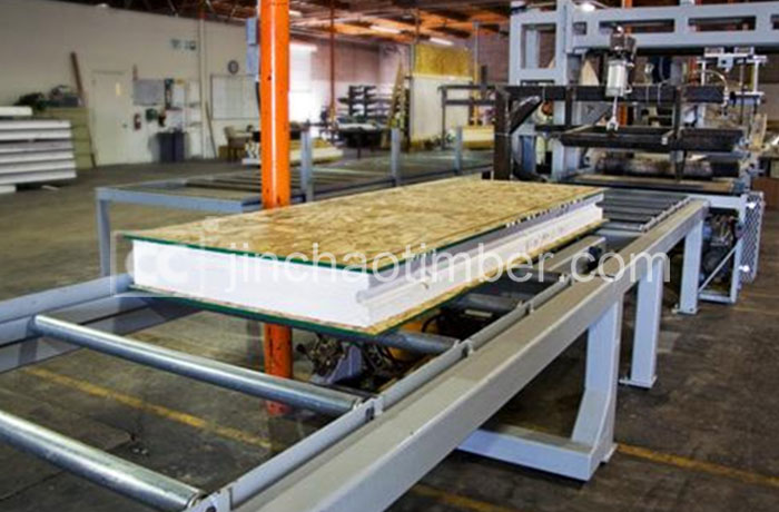 Eps osb sip osb sandwich wall panle for building factory for Sip construction