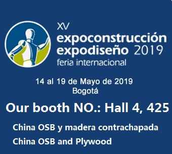EXPOCONSTRUCCION&EXPODISEÑO2019 (CC OSB CC PLYWOOD)