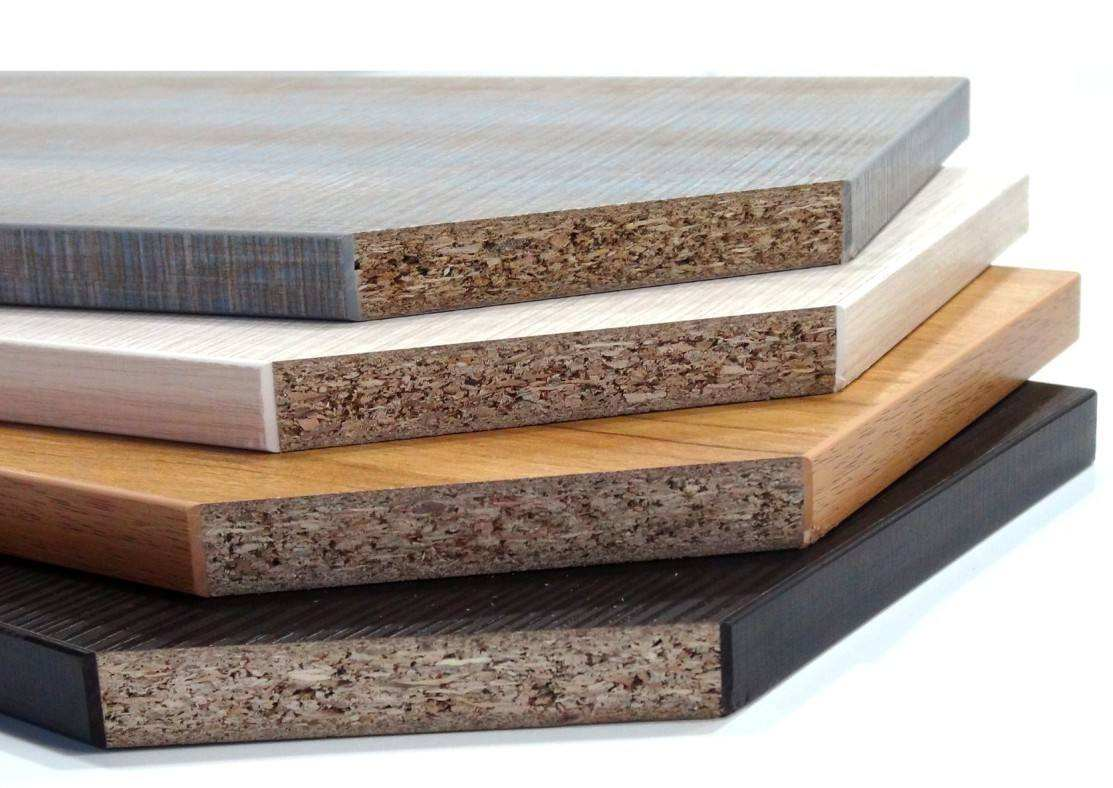 Big Size E1 Glue Melamine Faced Particle Board Chipboard with PVC edge